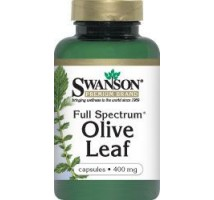 SWANSON Full Spectrum Olive Leaf 400mg 60kaps