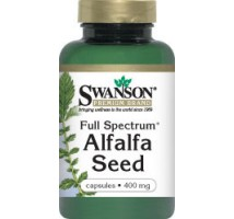 SWANSON Full Spectrum Alfalfa 400mg 60kaps