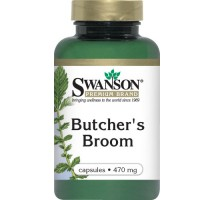SWANSON Butcher's broom 470mg 100kaps