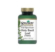 SWANSON Full Spectrum Holy Basil 400mg 120kaps