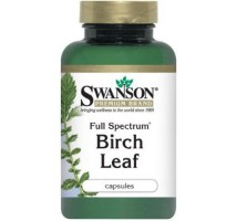 SWANSON Full Spectrum Birch Leaf 400mg 60kaps