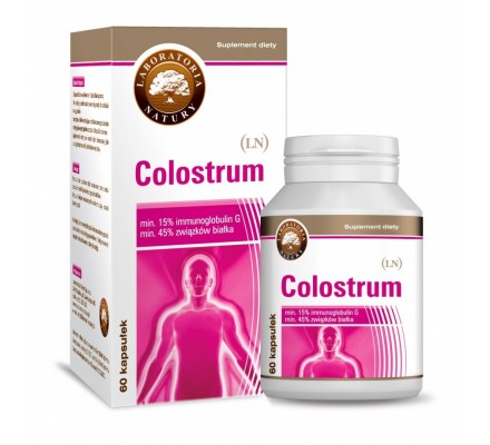 LABORATORIA NATURY Colostrum 630mg 60kaps