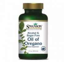 SWANSON Oregano Oil 150mg 120 żelków