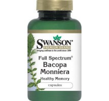 SWANSON Full Spectrum Bacopa Monniera 500mg 90kaps